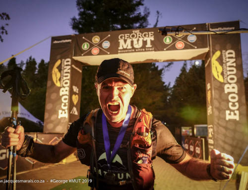 George Pulls Together for Mountain Ultra Trail