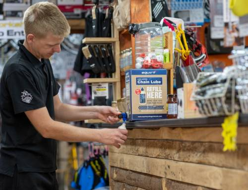Squirt Cycling Products Introduce Chain Lube Eco Box